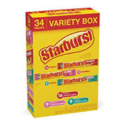 Starburst Variety Pack, 34 ct.