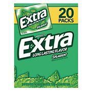 Wrigley's Extra Spearmint Gum, 20 pk./15 ct.