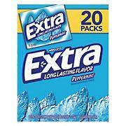 Wrigley's Extra Peppermint Gum, 20 pk./15 ct.