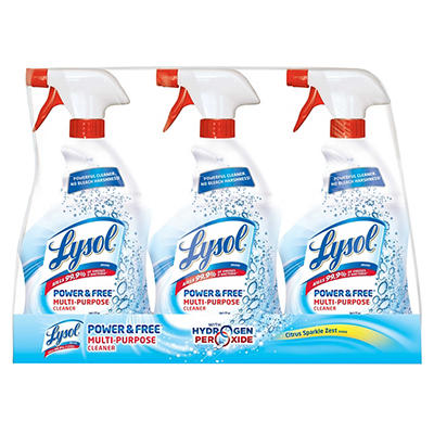 Lysol Power & Free Multipurpose Cleaner 3 pk./32 oz.