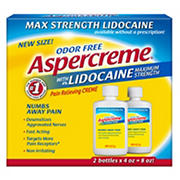Aspercreme with Lidocaine, 2 pk./4 oz.