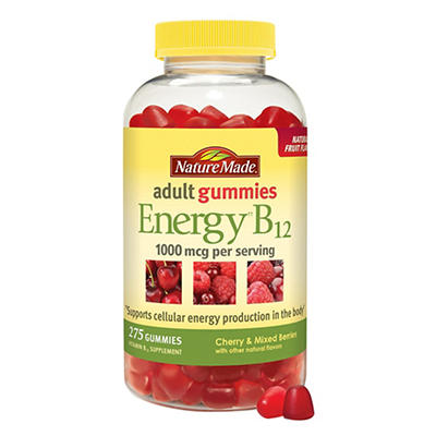 Nature Made Energy B12 Adult Gummies, 275 ct.