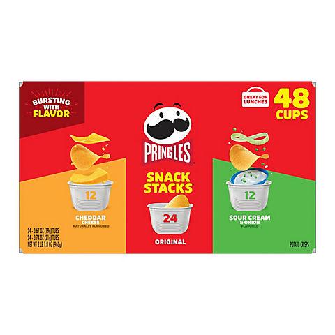 Pringles Snack Stacks Variety Pack