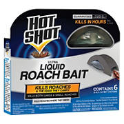 Hot Shot Liquid Roach Bait Stations, 6 ct./0.456 fl. oz.