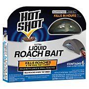 Hot Shot Liquid Roach Bait Stations, 6 ct./0.456 fl. oz.