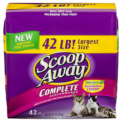Scoop Away Complete Performance Cat Litter, 42 lbs.