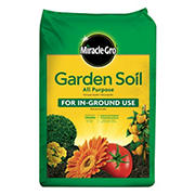 Miracle-Gro Flowers & Vegetable Garden Soil, 1 cu. ft.