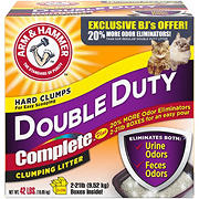 Arm & Hammer Complete Double-Duty Clumping Litter, 42 lbs.