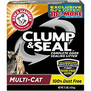 Arm & Hammer Clump & Seal Multi-Cat Litter, 31 lbs.