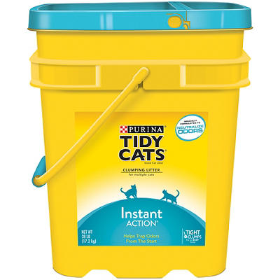 Purina Tidy Cats Clumping Instant-Action Cat Litter, 38 lbs.