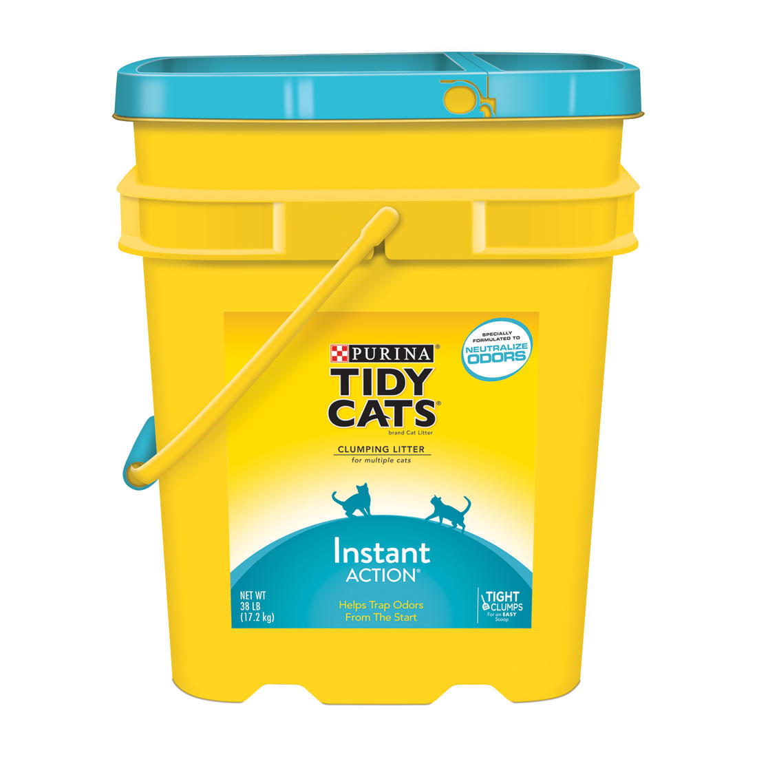 image regarding Tidy Cat Litter Coupons Printable named Purina Tidy Cats Clumping Immediate-Stage Cat Clutter, 38 kilos.