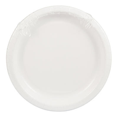 "Creative Converting 10.25"" Plates, 40 ct. - White"