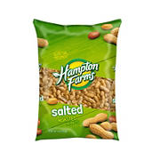 Hampton Farms Salted Roasted In-Shell Peanuts, 5 lbs.