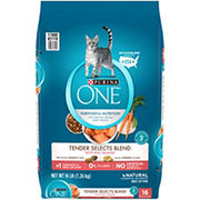 Purina ONE Salmon & Tuna Flavor Cat Food, 16 lbs.