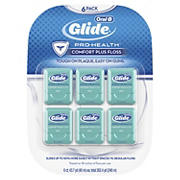 Oral-B Glide Comfort Plus Mint-Flavored Floss, 6 pk.