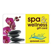 $25 Spa Week Spa and Wellness Gift Card, 2 pk.