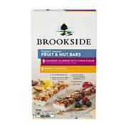 Brookside Yogurt-Flavored Fruit and Nut Bars Variety Pack, 18 ct.