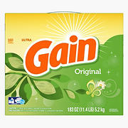 Gain Original HE Powder Laundry Detergent, 183 oz.