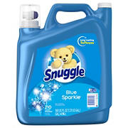Snuggle Ultra Blue Sparkle Liquid Fabric Softer With Fresh Release, 168 fl. oz., 210 Loads