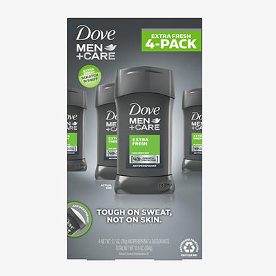 Dove Men+Care Extra Fresh Antiperspirant, 4 pk./2.7 oz.