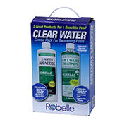 Robelle Clear Water for Swimming Pool Combo Pack