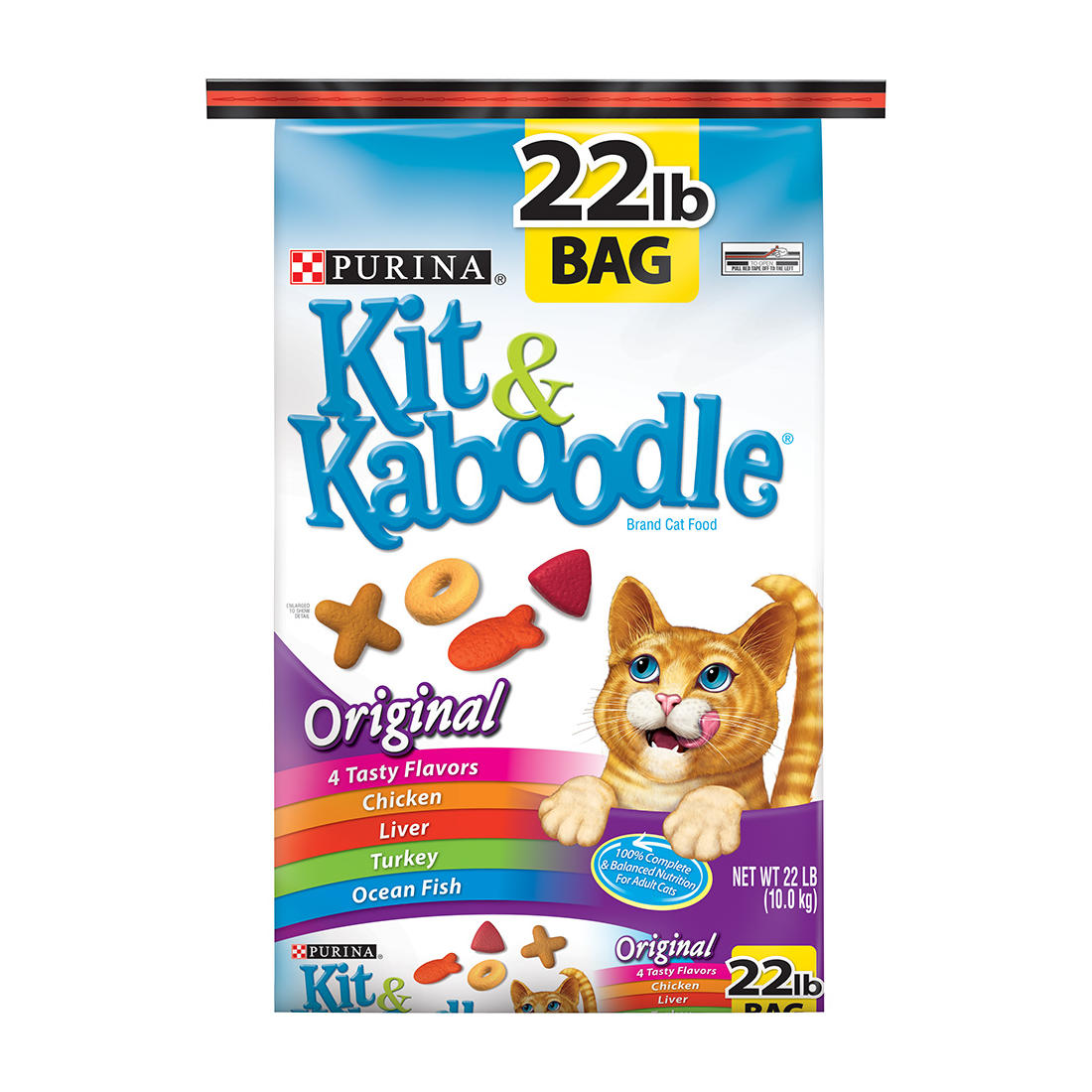 Purina Kit & Kaboodle Original Cat Food, 22 lbs.
