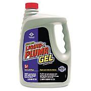Liquid Plumr Gel Heavy-Duty Clog Remover, 80 oz.