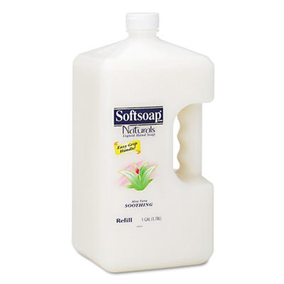 Softsoap Naturals Moisturizing Hand Soap with Aloe Vera, 1 Gallon Bott