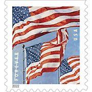USPS Forever Postage Stamps, 100 count - U.S. Flag