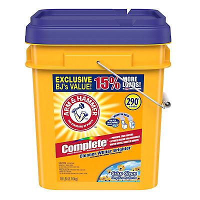 Arm & Hammer Complete Powder Detergent, 18 lbs.