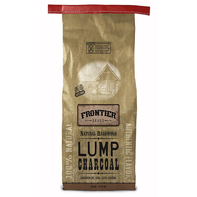 Frontier 100% Natural Lump Charcoal, 34 lbs.