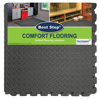 Best Step Comfort Flooring, 8 pk. - Color Varies