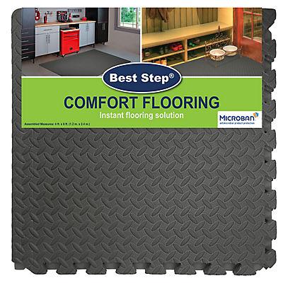 Best Step Comfort Flooring, 8 pk. - Color Varies