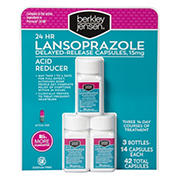 Berkley Jensen 24-Hour Lansoprazole, 3 pk./14 ct.