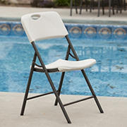 Lifetime Folding Chair - Almond