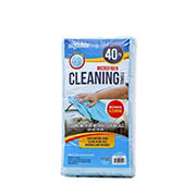 Microtex Lint-Free Microfiber Cleaning Towels, 40 pk.