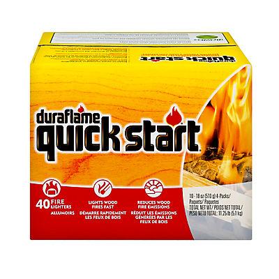Duraflame Quick Start Firestarters, 40-pk.