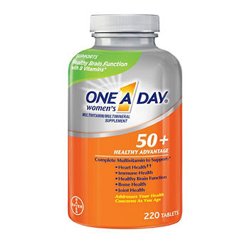 a3eec375bf One A Day Women's 50+ Healthy Advantage Multivitamin Tablets, 220 ct ...