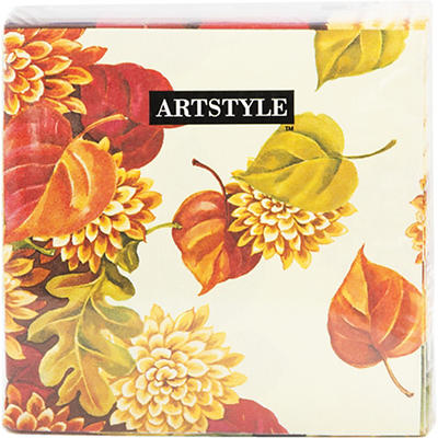 "Artstyle 13"" x 13"" 3-Ply Dinner Napkins, 120 ct. - Fall Leaf"