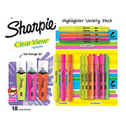 Sharpie Highlighter Variety Pack, 18 ct.