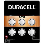 Duracell D Cell 2032 Watch Batteries, 6 ct.