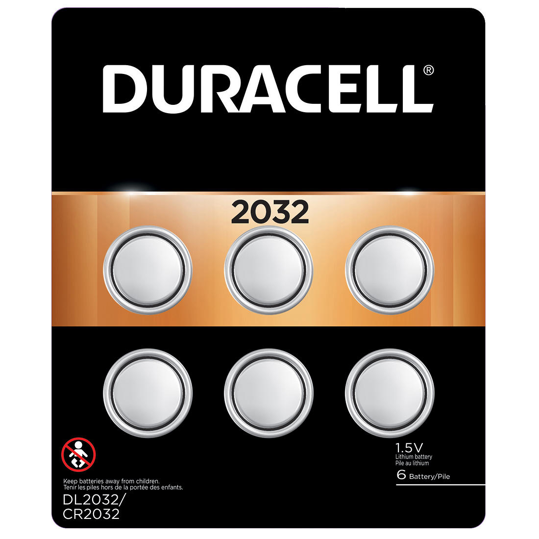 image regarding Duracell Battery Coupons Printable identified as Duracell D Mobile 2032 Check Batteries, 6 ct.