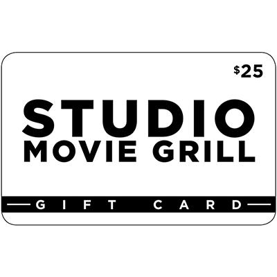$25 Studio Movie Grill Gift Card, 2 pk.