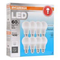 Deals on Sylvania 60W Equivalent LED A19 Lamp Light Bulb, 8 pk.