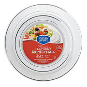 Berkley Jensen Premium Heavyweight Dinner Plates, 30 ct. - White