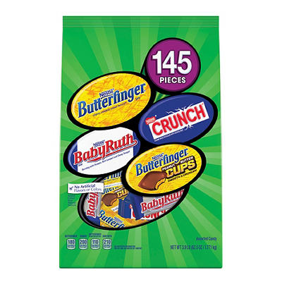 Nestle Assorted Chocolate Candy, 145 ct.