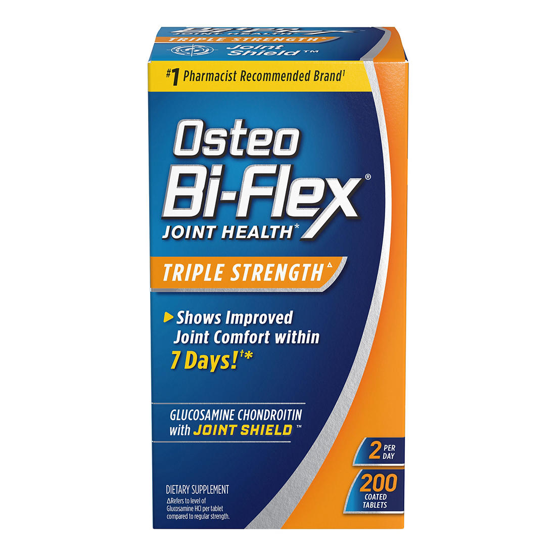 photograph about Osteo Bi Flex Coupon Printable named Osteo Bi-Flex Triple Energy Caplets, 200 ct.