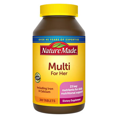 Nature Made Multi For Her Tablets, 300 ct.