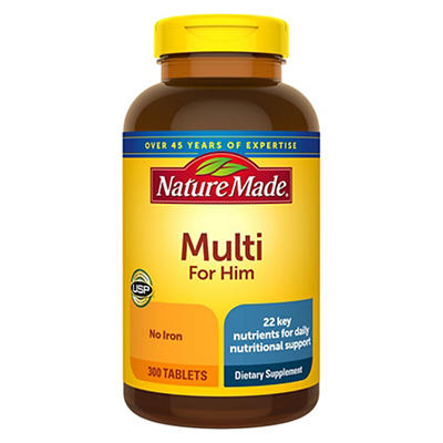 Nature Made Multi For Him Tablets, 300 ct.