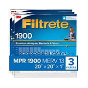 "Filtrete 20"" x 20"" x 1"" Ultimate Allergen Reduction Filters, 3 pk."